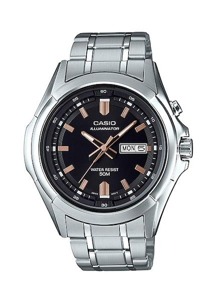 CASIO Mens Wrist Watch Model ILLUMINATOR MPN MTP-E205D-1A