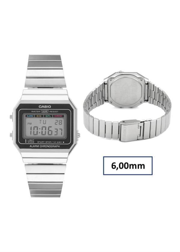 CASIO Unisex Wrist Watch MPN A700WE-1AEF