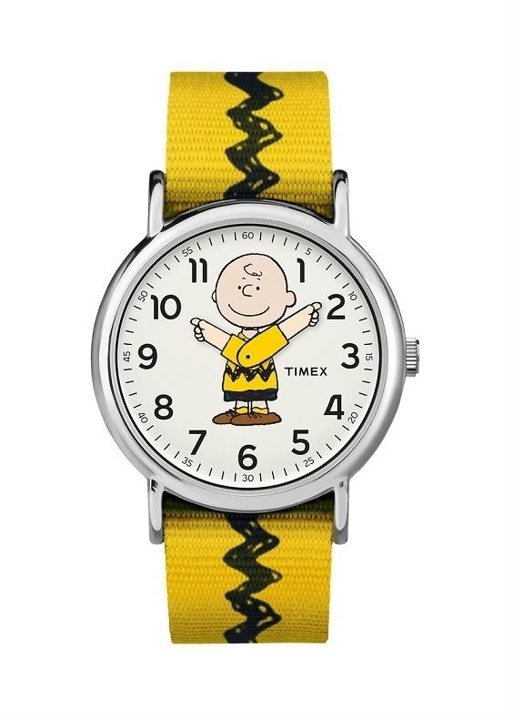 TIMEX Unisex Wrist Watch Model PEANUTS - CHARLIE BROWN MPN TW2R41100