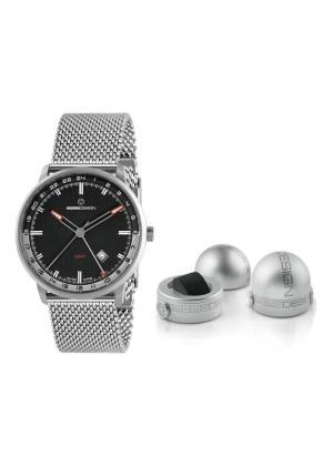 MOMO DESIGN Gents Wrist Watch Model ESSENZIALE GMT MD6005SS-10