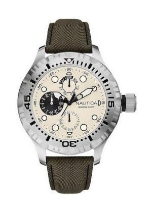 NAUTICA Gents Wrist Watch Model BDF 100 MULTI A15108G