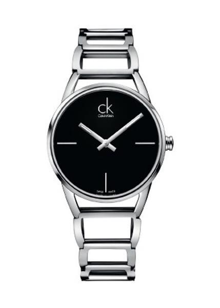 CK CALVIN KLEIN Ladies Wrist Watch Model STATELY K3G23121