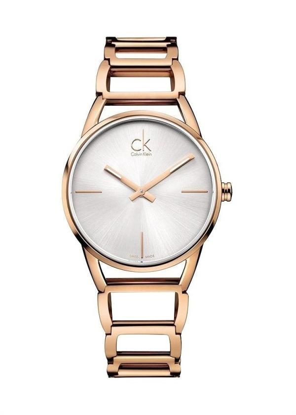 CK CALVIN KLEIN Ladies Wrist Watch Model STATELY K3G23626