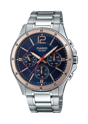 CASIO Gents Wrist Watch MTP-1374D-2A2