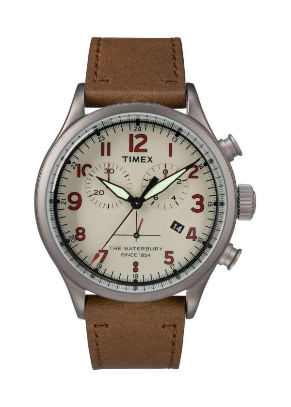 TIMEX Gents Wrist Watch Model THE WATERBURY TW2R38300