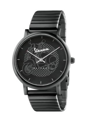 VESPA Unisex Wrist Watch Model CLASSY VA-CL01-BK-23BK-CM