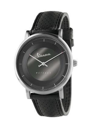 VESPA Unisex Wrist Watch Model CLASSY VA-CL01-SS-03BK-CP
