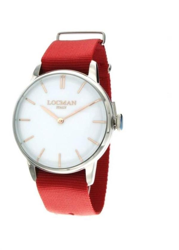 LOCMAN Gents Wrist Watch Model 1960 COLLECTION 0251V08-00WHRGNR