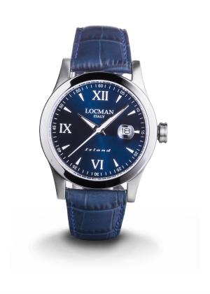 LOCMAN Gents Wrist Watch Model ISLAND 0614A02-00BLWHPB