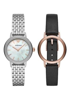 EMPORIO ARMANI Ladies Wrist Watch Model Special Pack + Extra Strap AR80020