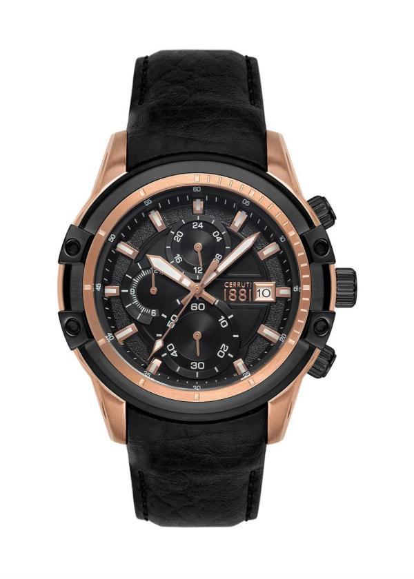 CERRUTI 1881 Mens Wrist Watch Model Valdaone CRA23501