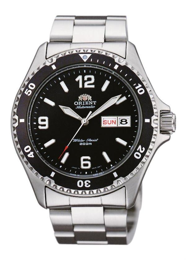 ORIENT Mens Wrist Watch Model Mako II Taucher FAA02001B3
