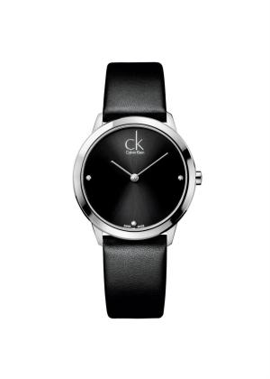 CK CALVIN KLEIN Ladies Wrist Watch Model MINIMAL - 3 Diamonds K3M221CS