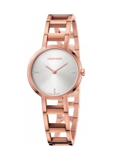 CK CALVIN KLEIN Ladies Wrist Watch Model CHEERS - 9 Diamonds K8N2364W