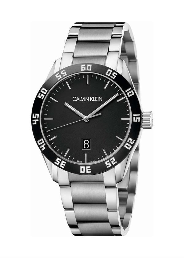 CK CALVIN KLEIN Gents Wrist Watch Model COMPETE K9R31C41