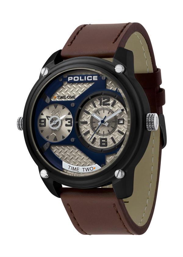 POLICE Mens Wrist Watch Model Blackout PL.15268JSB/03