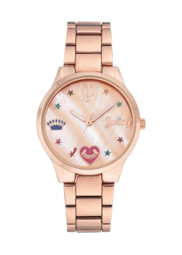 JUICY COUTURE Womens Wrist Watch JC/1016RMRG