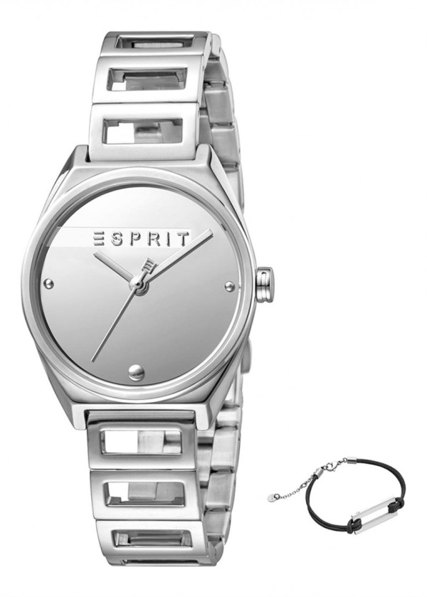 ESPRIT Womens Wrist Watch Model Gift Set Bracelet ES1L058M0015