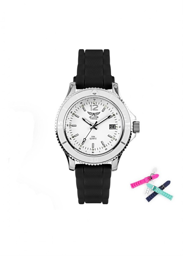 AVIATOR Womens Wrist Watch AVX7502L32