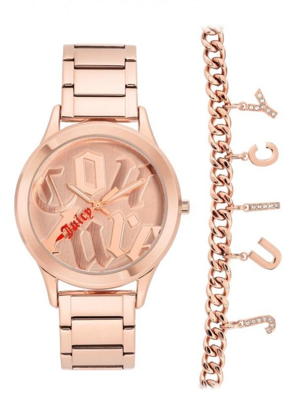 JUICY COUTURE Womens Wrist Watch JC/1146RGST