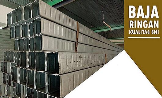 baja ringan plafon angga jasa konstruksi pemasangan rangka atap