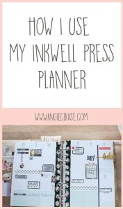 I've only used the Inkwell Press Planner for a couple of months, but so far it is perfect for me. Dare I say, I've found planner peace!