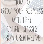 Learn How to Grow Your Business with Free Classes