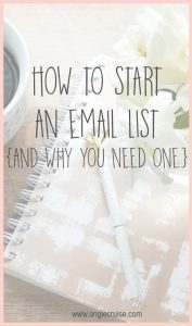 How do you grow an email list? And why would you need one? If you plan to make money online, a list is a must. Let's talk about how to make yours awesome!
