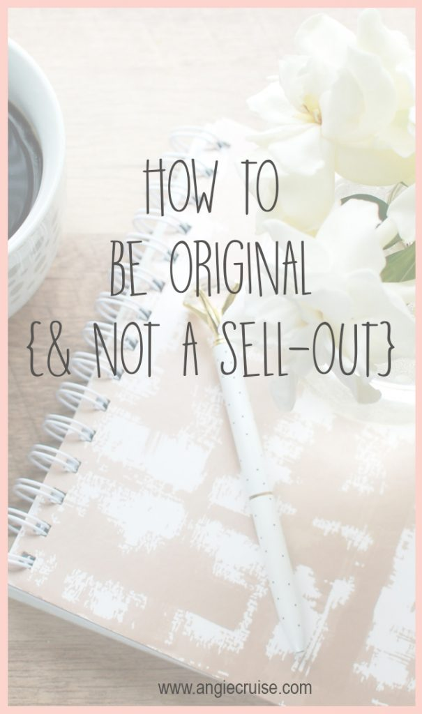 As a business owner, it's easy to get wrapped up in fads and successful products. Always know where to draw the line so that you can be original.