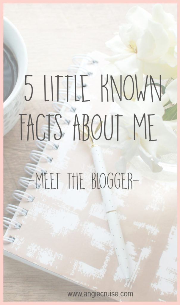 It's always fun to get to know the girl behind the blog, right? So today, I thought I'd tell you a little more about me!