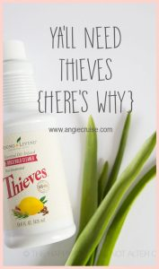 When I told a friend how frustrated I was trying to find a cleaner that I actually liked, she told me to try the Thieves Cleaner. I was tired of smelling vinegar in my kitchen every day, and wanted something that would actually make my house smell good.