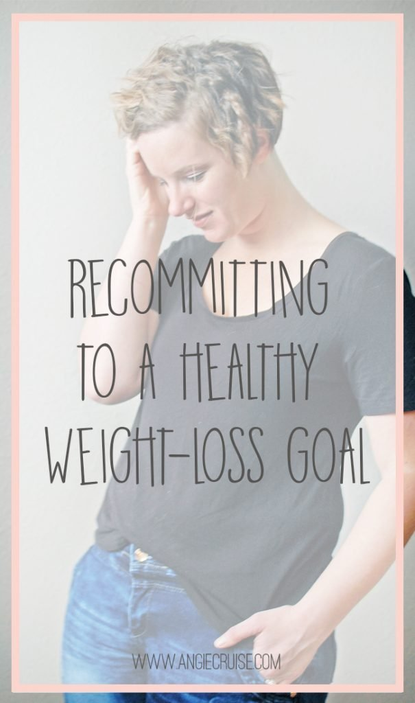 """I love talking about health related topics on here, but one that I have avoided until now is weight loss. Weight plays a big roll in our overall health, but I've never really felt """"qualified"""" to talk about it. I'm recommitting to a new healthy weight loss goal, though, and wanted to share the journey!"""