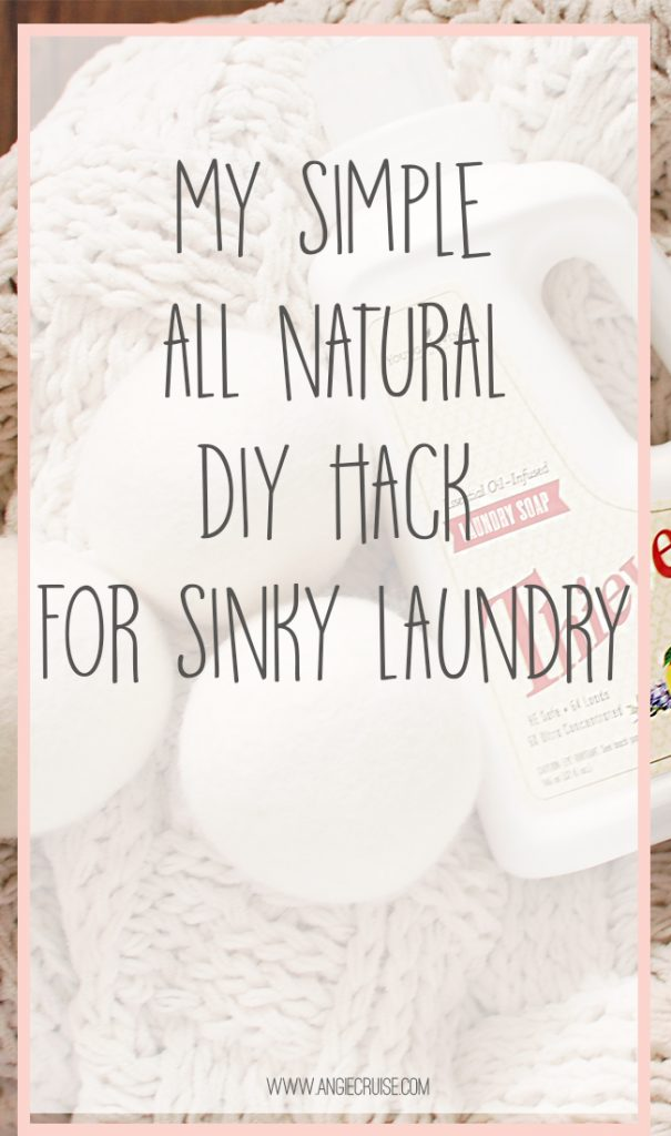 I know I'm not the only mom struggling with the smell of neglected laundry in the washer. Let me share my favorite non-toxic stinky laundry hack that will change the way you do laundry! Read on for details.