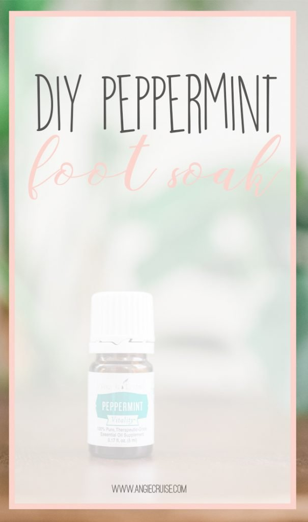 I whipped up a batch of this peppermint foot soak and as far as DIYs go, this one is pretty simple. So, even the busiest of us should be able to make up a batch to enjoy! Check out the recipe!