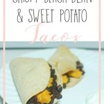 Crispy Black Bean & Sweet Potato Tacos