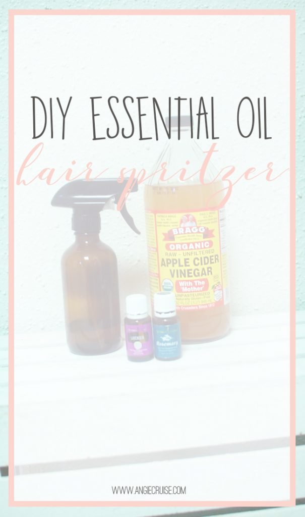 Easy DIY Hair Spritzer with Apple Cider Vinegar