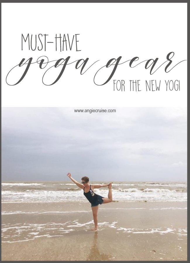 Thinking about trying out yoga this year? Check out my favorite yoga gear essentials for a great home practice or yoga class! #yogagear #yogaessentials #yoga