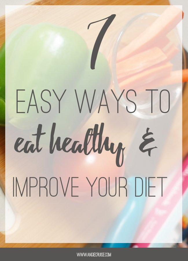 There's a lot of advice out there about ways to eat healthy. Are you trying to improve your diet? Here are some simple tips that can help you get started on your new health journey.