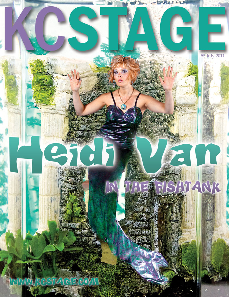 July 2011 KC Stage cover: photo by Bob Compton