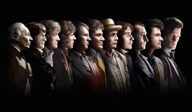 Doctor Who 50th anniversary image. Image courtesy BBC