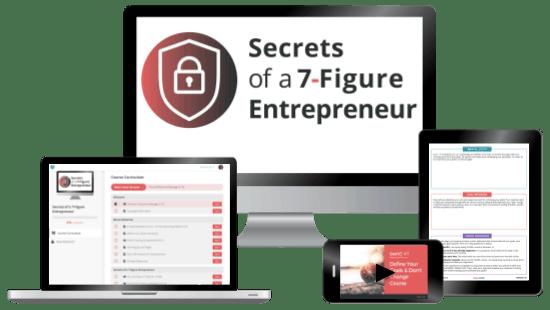 Secrets Of A 7 Figure Entrepreneur Services Page