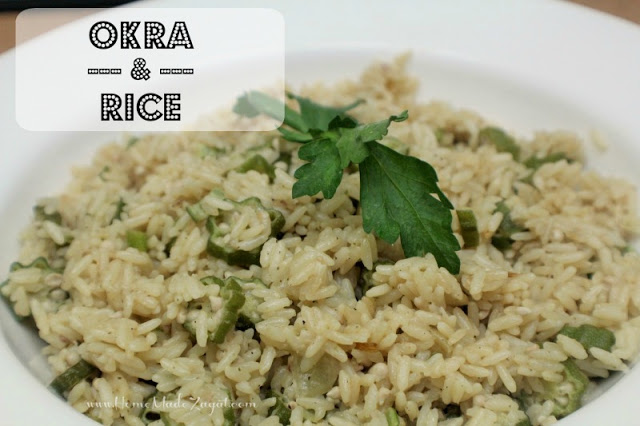By kind permission of https://www.homemadezagat.com/2015/05/okra-and-rice-recipe.html