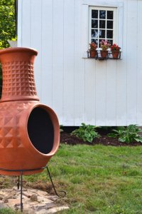 Clay Chimney Fire Pit - Angie's Roost