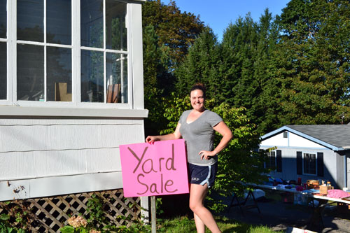 Yard Sale Open For Business