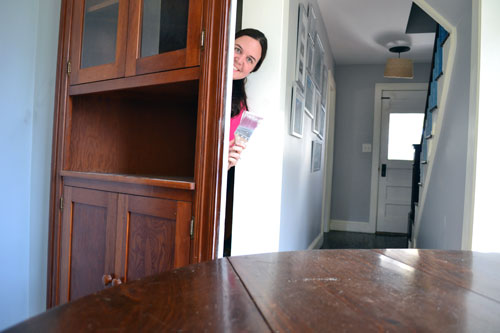 CasterIzation How To Turn A China Cabinet Into A Closet