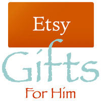 Etsy Gifts For Him Logo