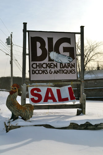 Big Chicken Barn Books & Antiques