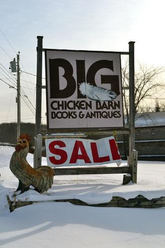 Big Chicken Barn Books & Antiques