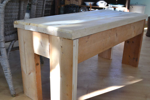 Rustic Entry Bench