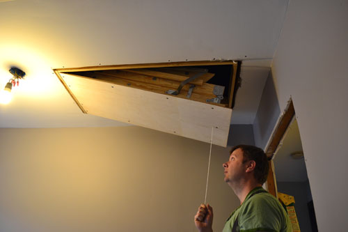 How To Install Attic Stairs Angie S Roost